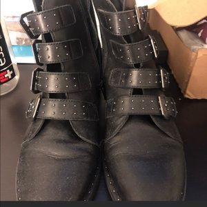 Steve Madden Shoes - Studded moto boots